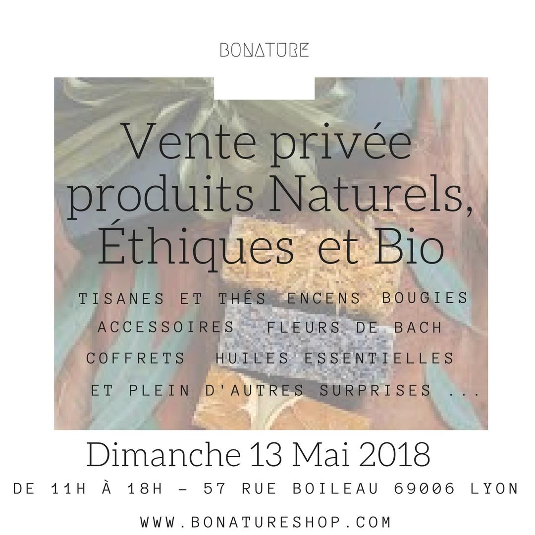 Vente privée Dimanche 13 Mai 2018 àLyon